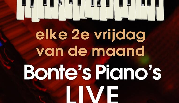 Bonte Piano's LIVE 8 oktober